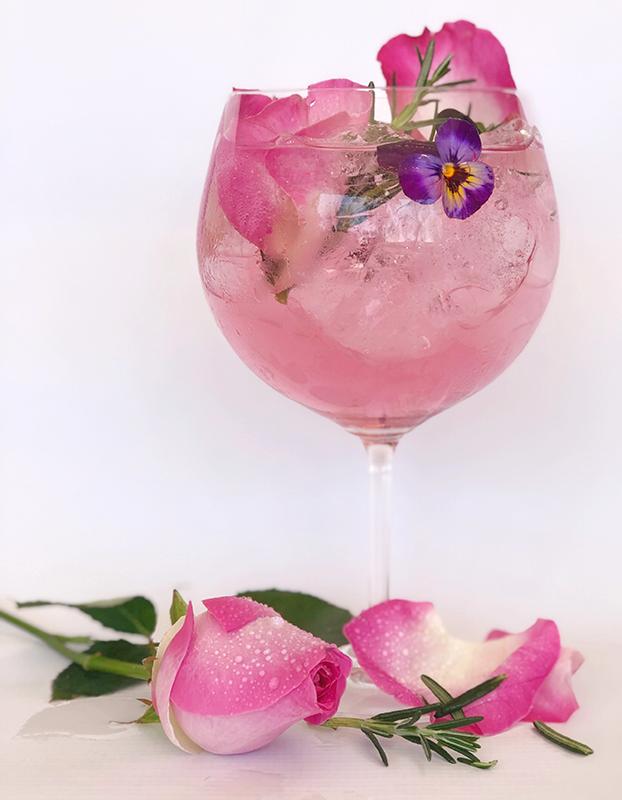 Ginnic Rose Glass